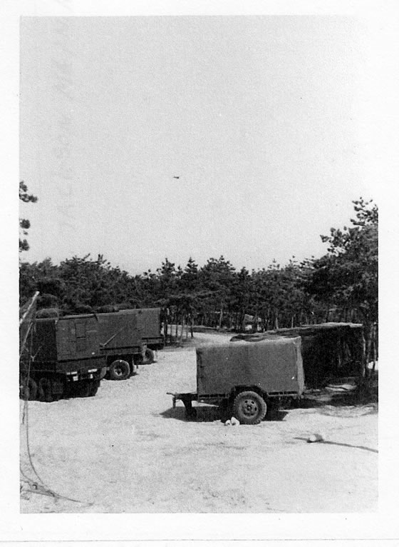 Korea 1969 Army Vehicles